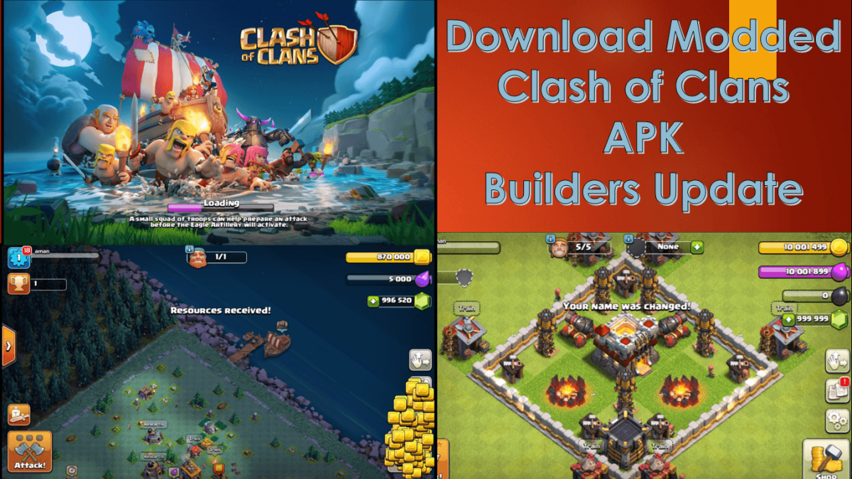 Download Latest Miro Clash APK Private Server COC | Unlimited gems, elixir and gold |Builders