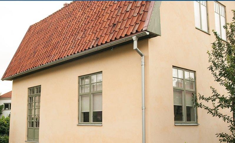 Gamla fönster  – en del av husets ventilation