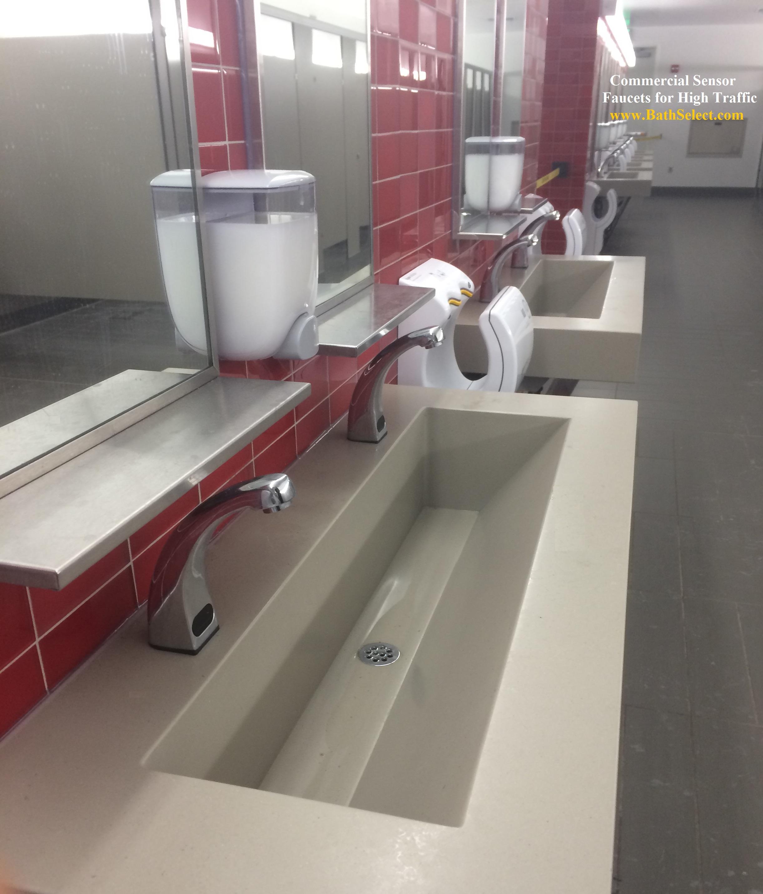 commercial automatic motion sensor faucets