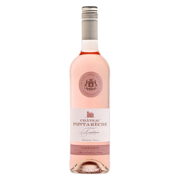 vin rose AOP IGP corbieres fontareche