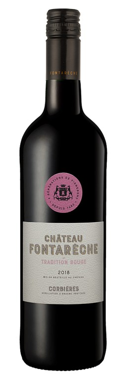 CHATEAU FONTARECHE TRADITION ROUGE 2018 311-0105 PF