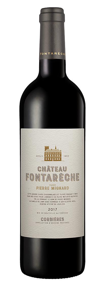 vin rouge AOP IGP corbieres fontareche