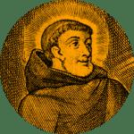 Gravure du fondateur de Fontevraud - Robert d'Arbrissel