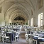 Réception au Grand-Réfectoire - Fontevraud