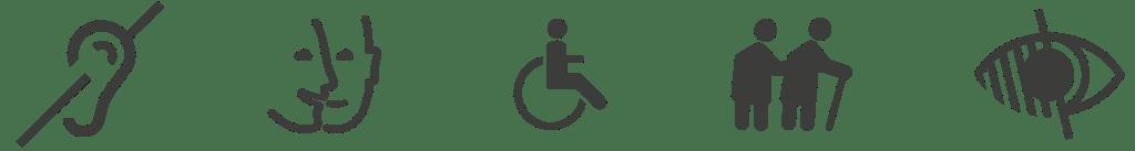 Bandeau Handicapes
