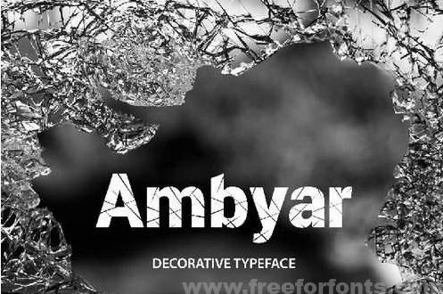 Ambyar Font Free Font Download