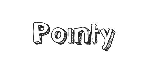 Pointy Font Family Typeface Free Download Ttf Otf Fontmirror Com