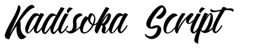 Download Kadisoka Script font by Letterhend Studio - FontRiver