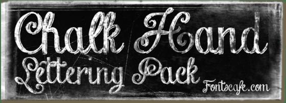 Download Chalk Hand Lettering Pack (3-font savings bundle) Fonts Cafe