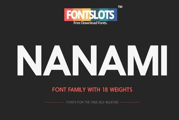 Nanami Font