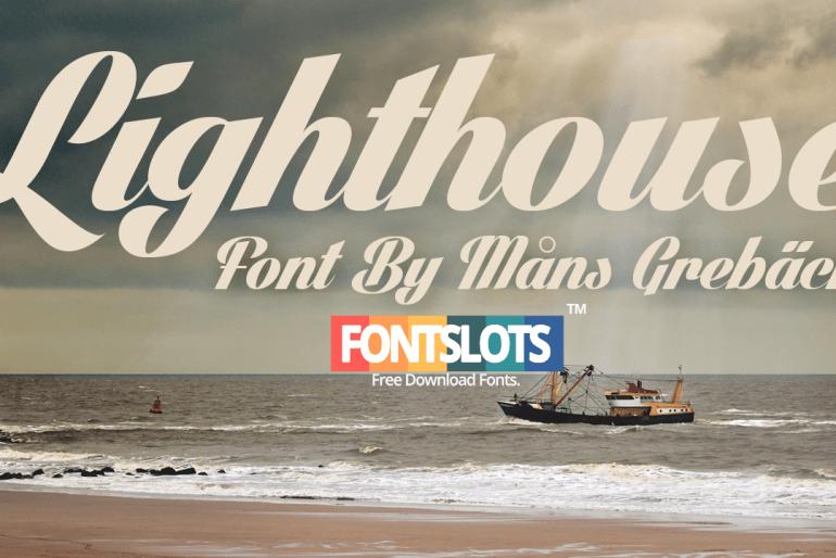 Lighthouse Fonts