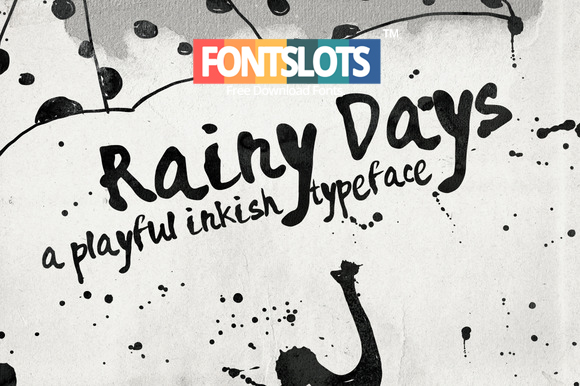 Rainy Days Font