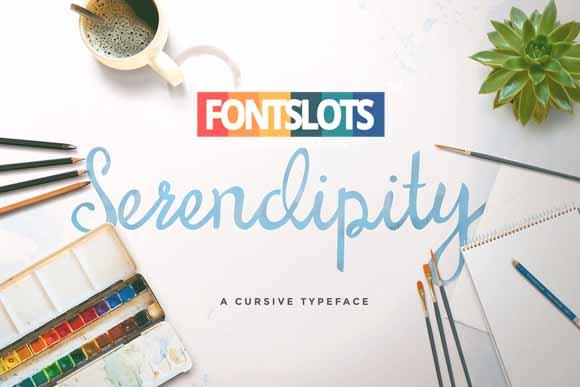 Serendipity Script Font