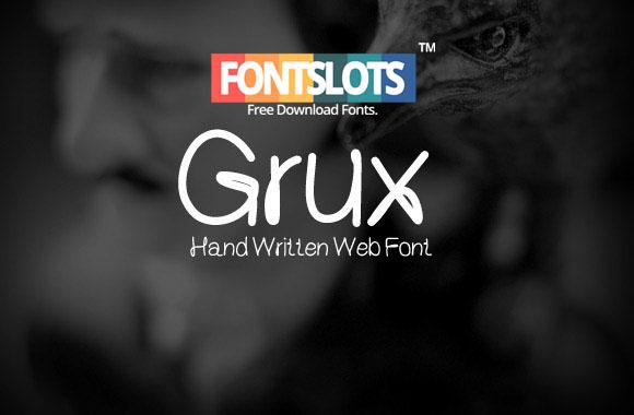 Grux Font