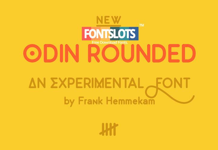 Odin Rounded Font