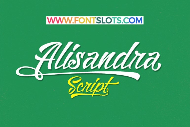 Alisandra Demo Font