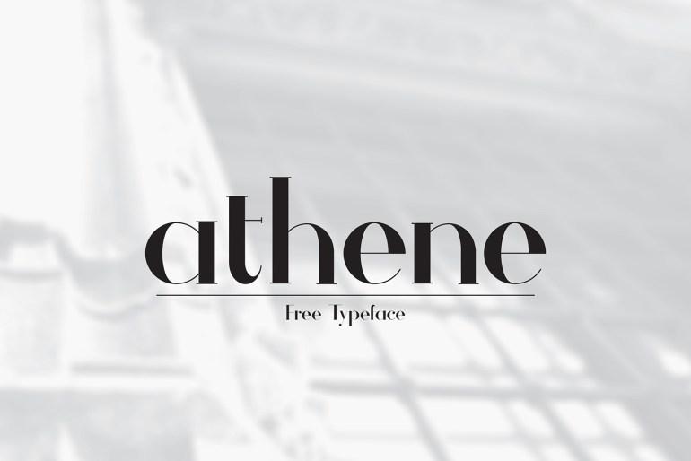 Athene Font