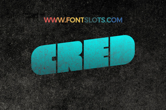 Cred Typeface Font