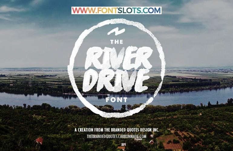 River Drive Font