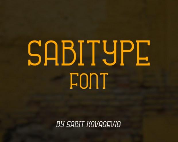 Sabitype