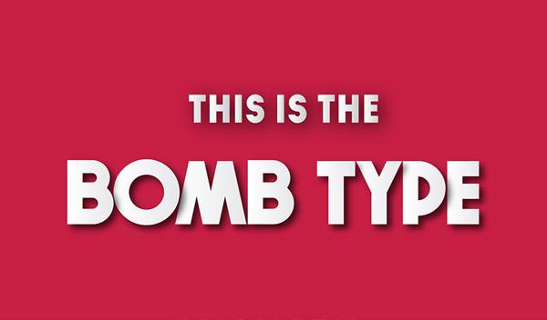 Bomb Font