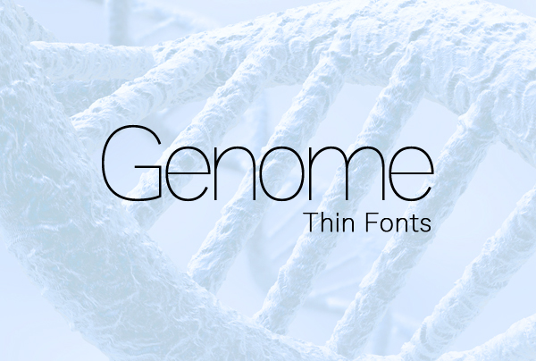 Genome Font