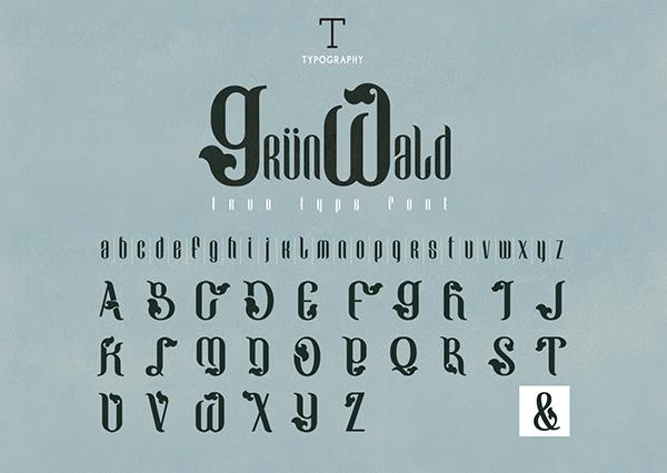 Grunwald Font