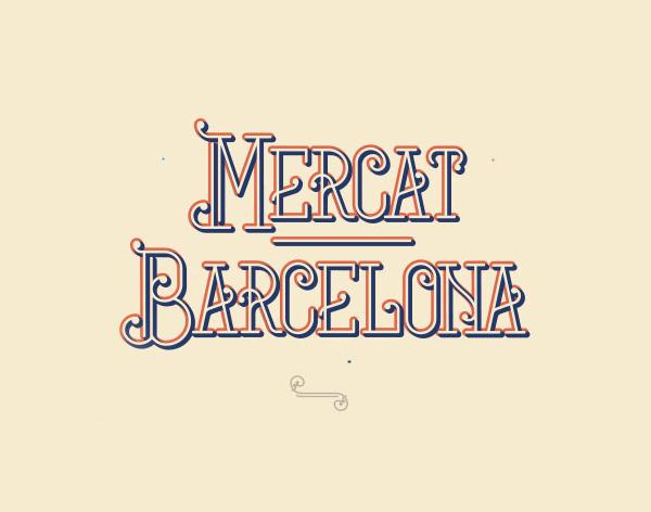 Mercat barcelona Font