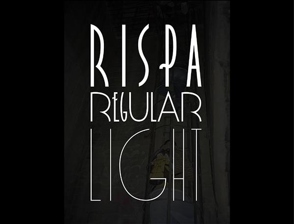 Rispa Family Typeface Font