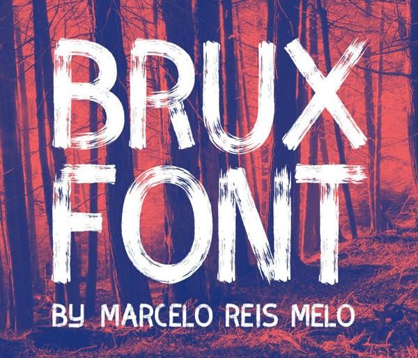 Brux Brush Font