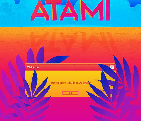 Atami Typeface Font