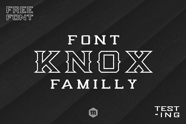 Knox Regular Font