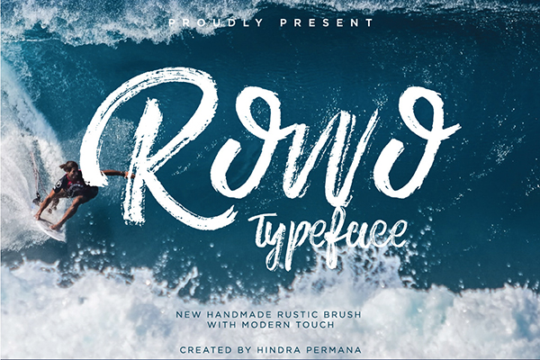 ROWO Typeface Font