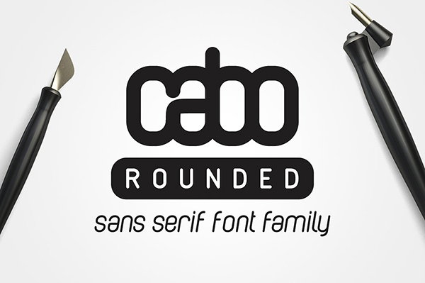 Cabo Rounded Font