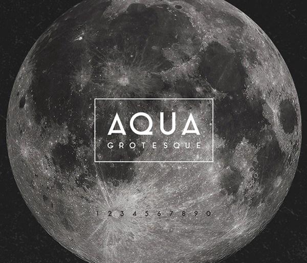 Aqua Typeface