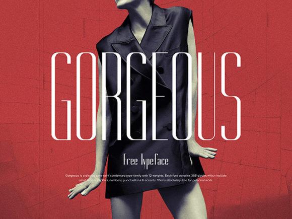 Gorgeous: A free elegant typeface
