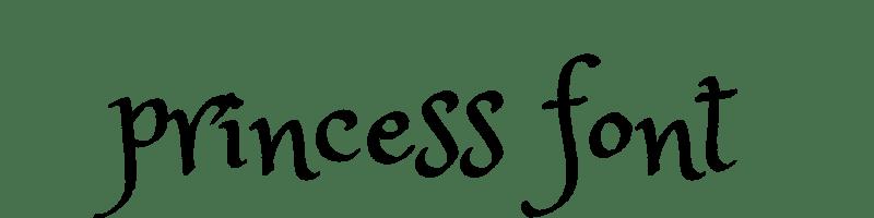 英文公主字體生成器,無版權可商業用途的公主字。