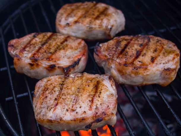 Pork Chops Mostarda
