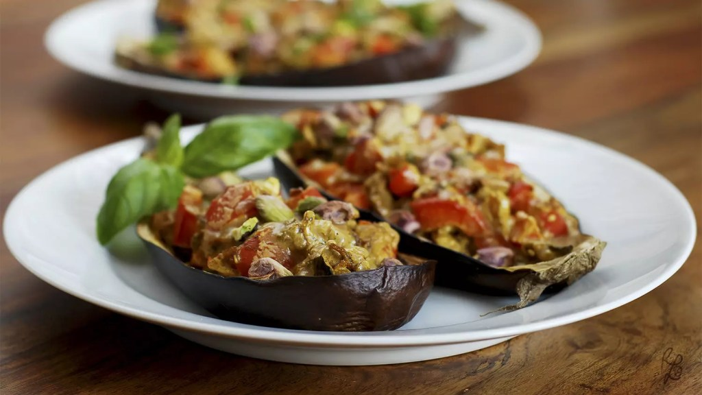 This is what your eggplants should look like in the end :)