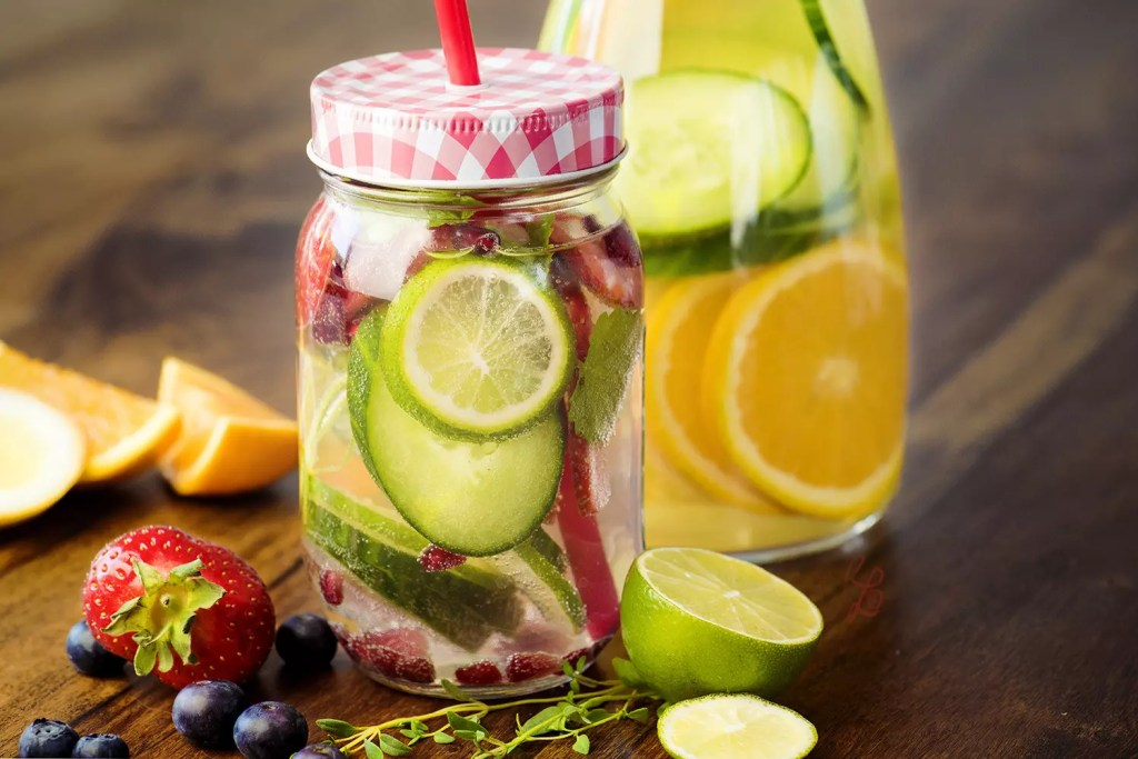 """In summer, I like to pimp my water with fruits and herbs – a food trend called """"infused water"""""""
