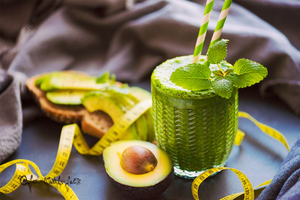 This could be your green smoothie ;)