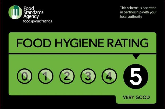 Image result for 5* food rating