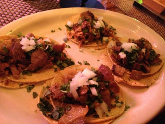 Taco plate at Casa Reyna in  the Strip District
