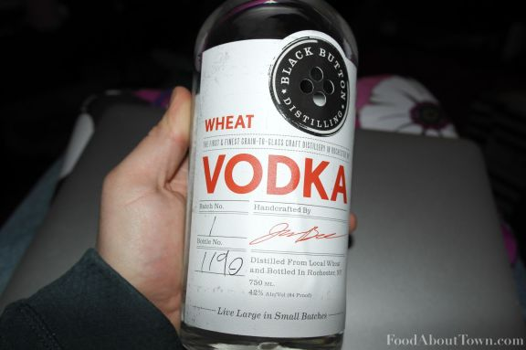 First run vodka