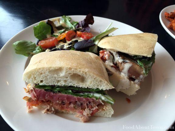 Char Tuna Sandwich