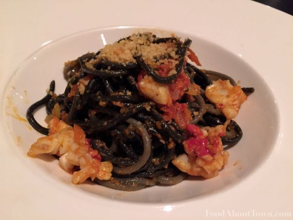 Char Squid Ink Pasta