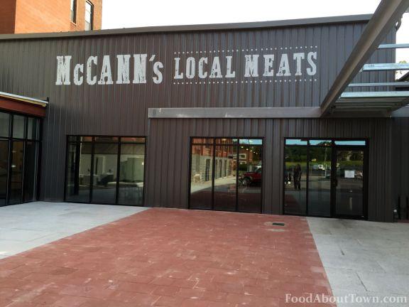McCann's Exterior