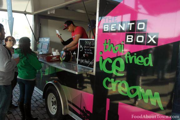 Bento Box Thai Fried Ice Cream