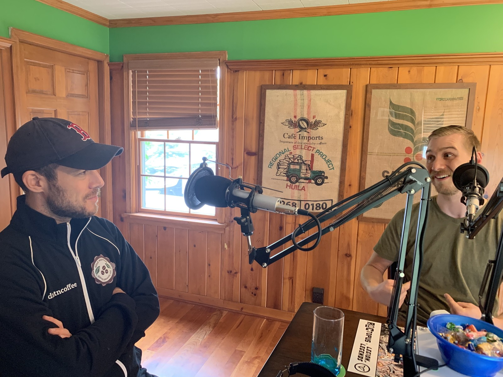 F.A.T. Podcast Episode 128 – Joe Bean and Gold Mountain Coffee