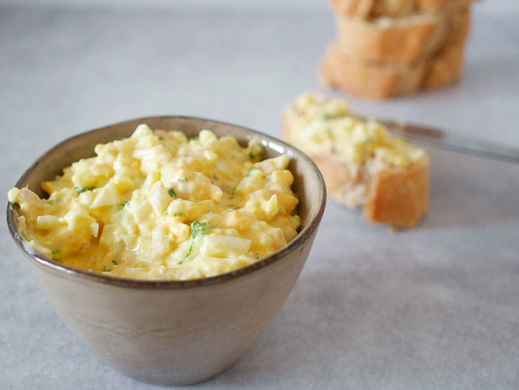 Zelfgemaakte eiersalade | Foodaholic.nl